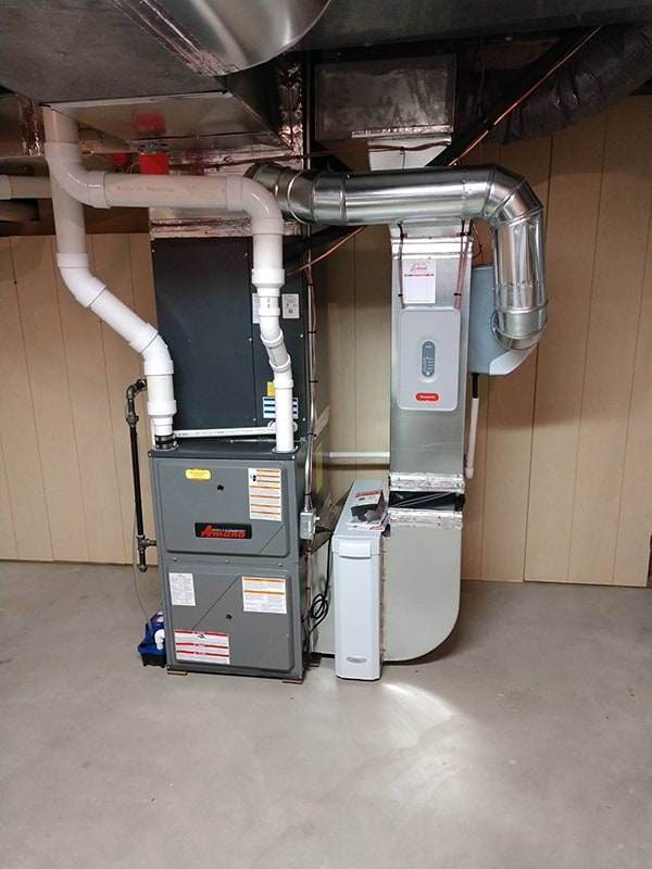 New Furnace with a Zone System