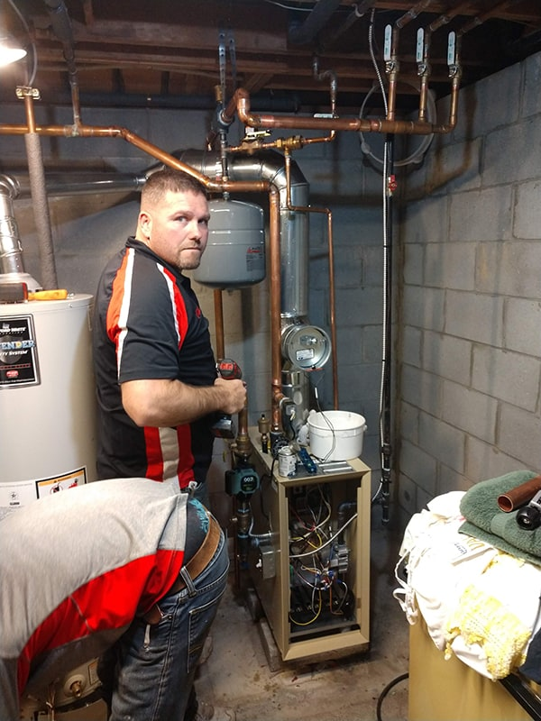 Nice Boiler Replacement with Chad