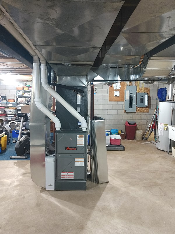 Replaced an Old Furnace and Added a Zone