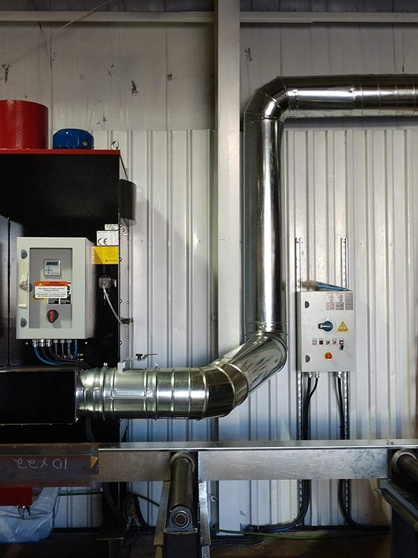 Vent Duct for a CNC Plasma Machine 2