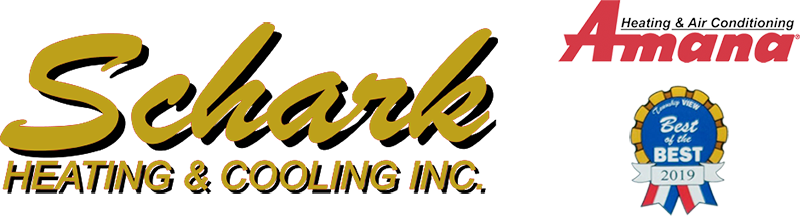 Schark Heating and Cooling installs, services, and repairs all brands. We are an Amana dealer and have won a 2019 Best of the Best award.