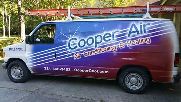 Cooper Air Service Van