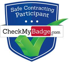 Check My Badge Shield Logo