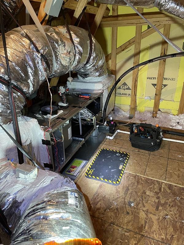 Bryant Heat Pump Installation