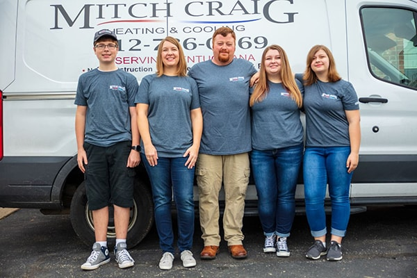 Mitch Craig and His Family