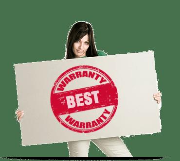 Best Warranties in the Business