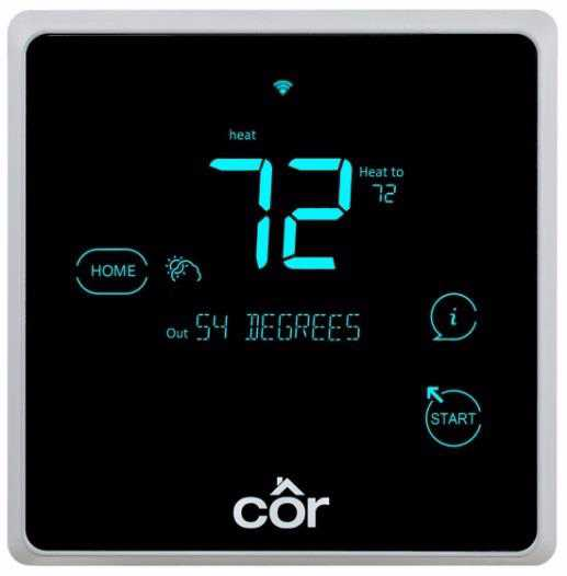Côr 7C Performance Series Wi-Fi® Thermostat