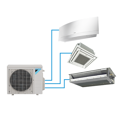 Daikin Multi-Zone Systems Indoor Units CTXS**LVJU and FTXS**LVJU ( 2 to 5 Port)