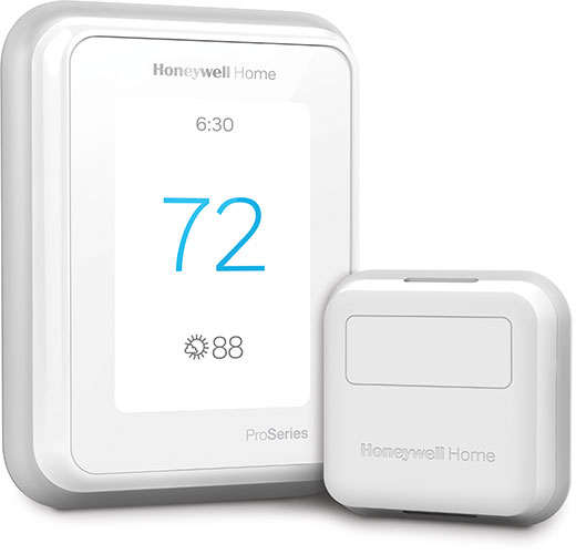 T10 Pro Smart Thermostat with RedLINK™ Room Sensor.