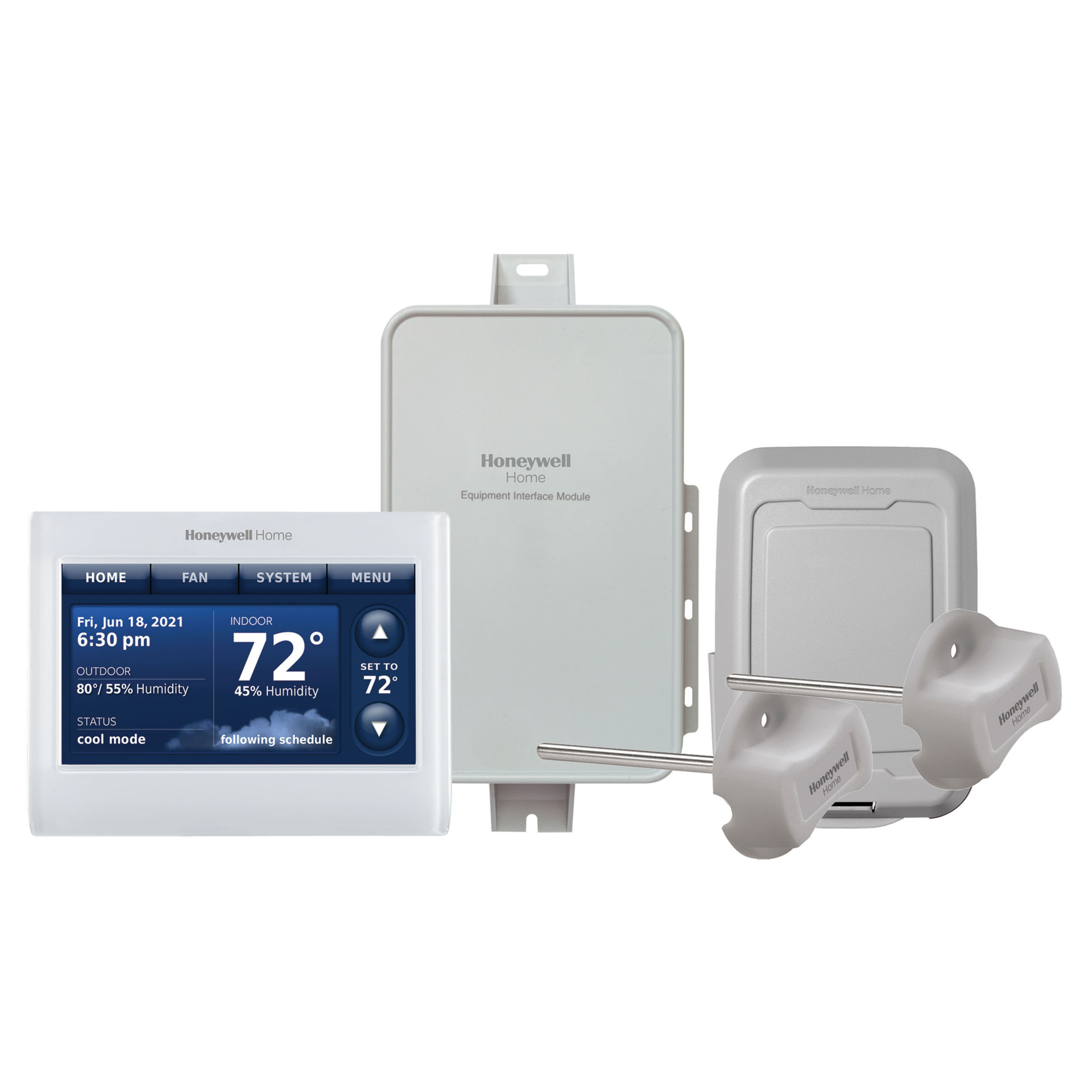 PRESTIGE® IAQ THERMOSTAT WITH REDLINK®
