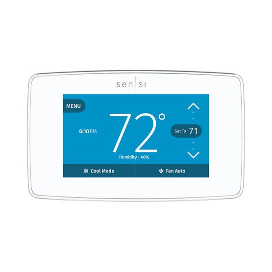Sensi Touch Wi- Fi White Thermostat