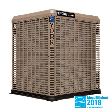 York 21 SEER High-efficiency, Variable Capacity, Communicating Air Conditioner