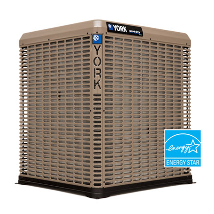 York 19 SEER High-efficiency, Two-stage, Communicating Air Conditioner