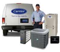 Carrier Cool Cash man and van