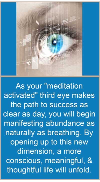 Opening Your Eye Chakra With Meditation