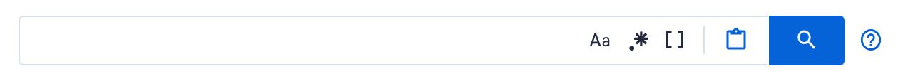 Code search input bar