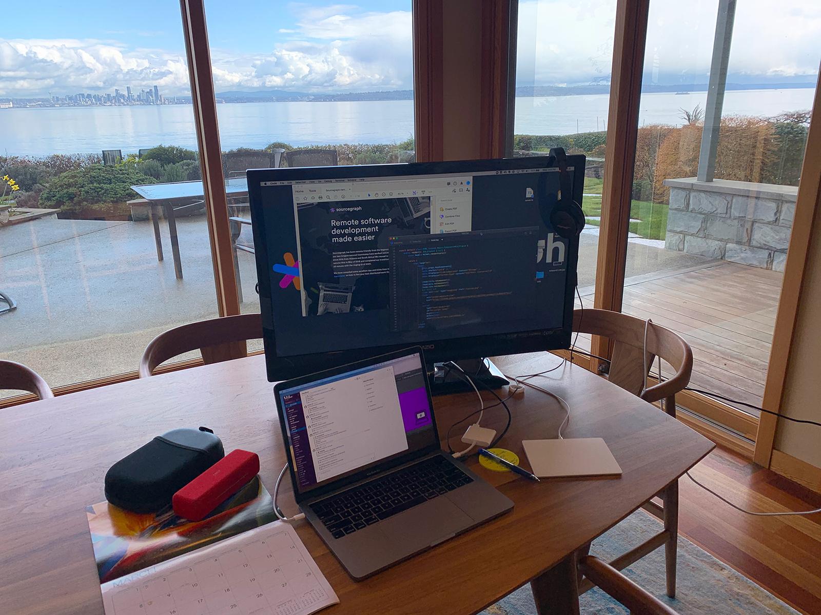 Home office setup of Aileen Agricola, Senior Digital Marketing Manager