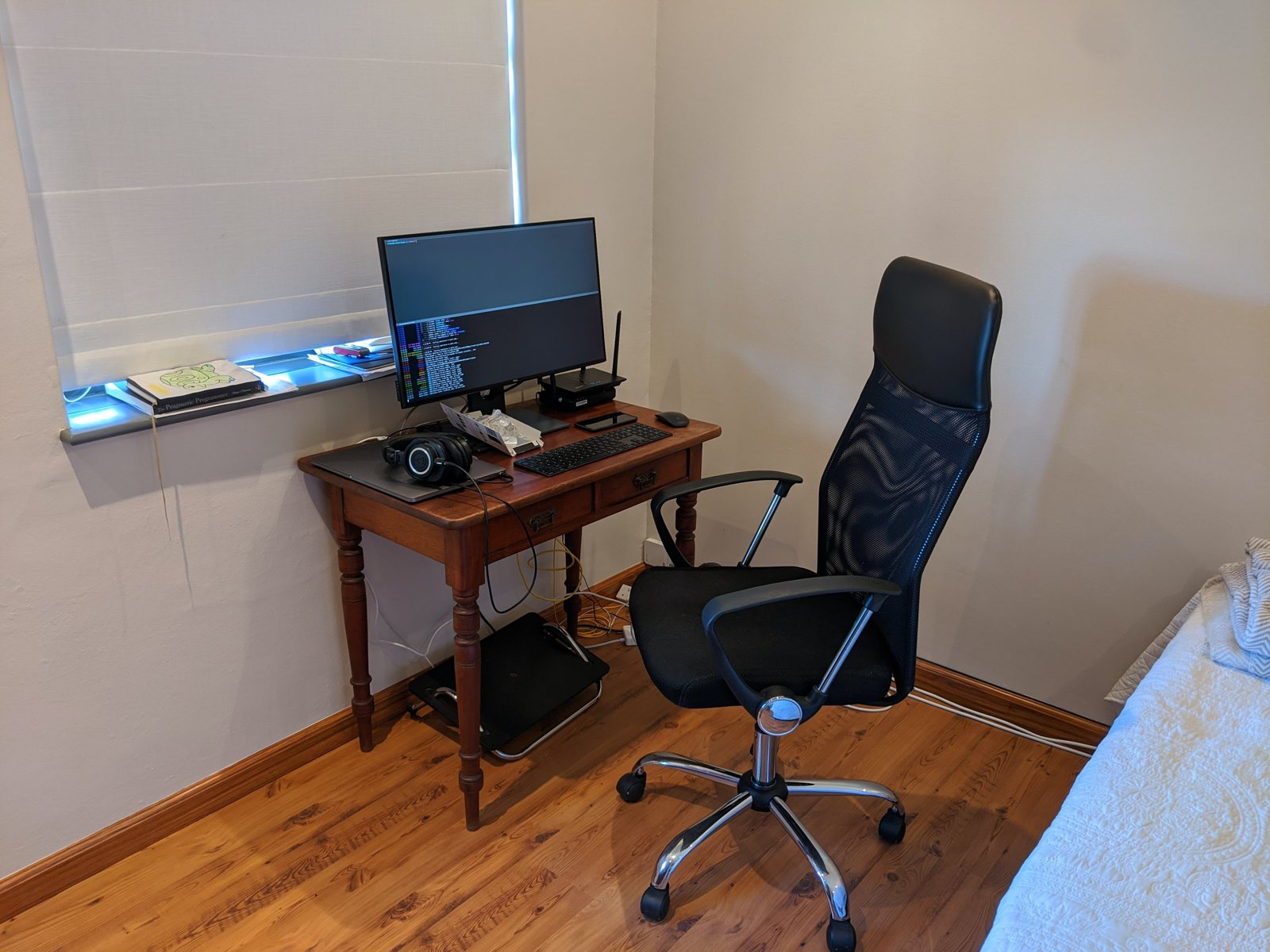 Home office setup of Ryan Slade, software engineer