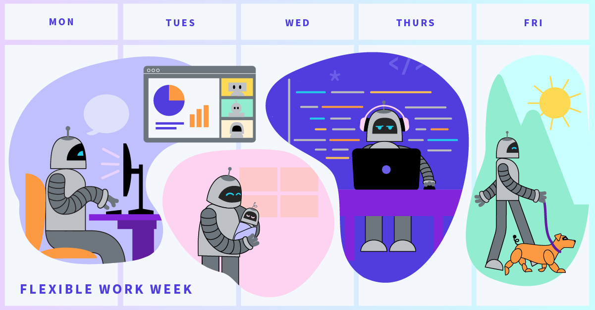 Async, remote, and flexible: How 7 engineers rethought their work calendars