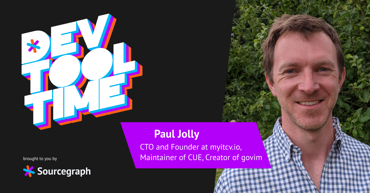 """""""It's small things that, when combined, make your development experience that much more pleasant"""": Dev Tool Time with Paul Jolly"""