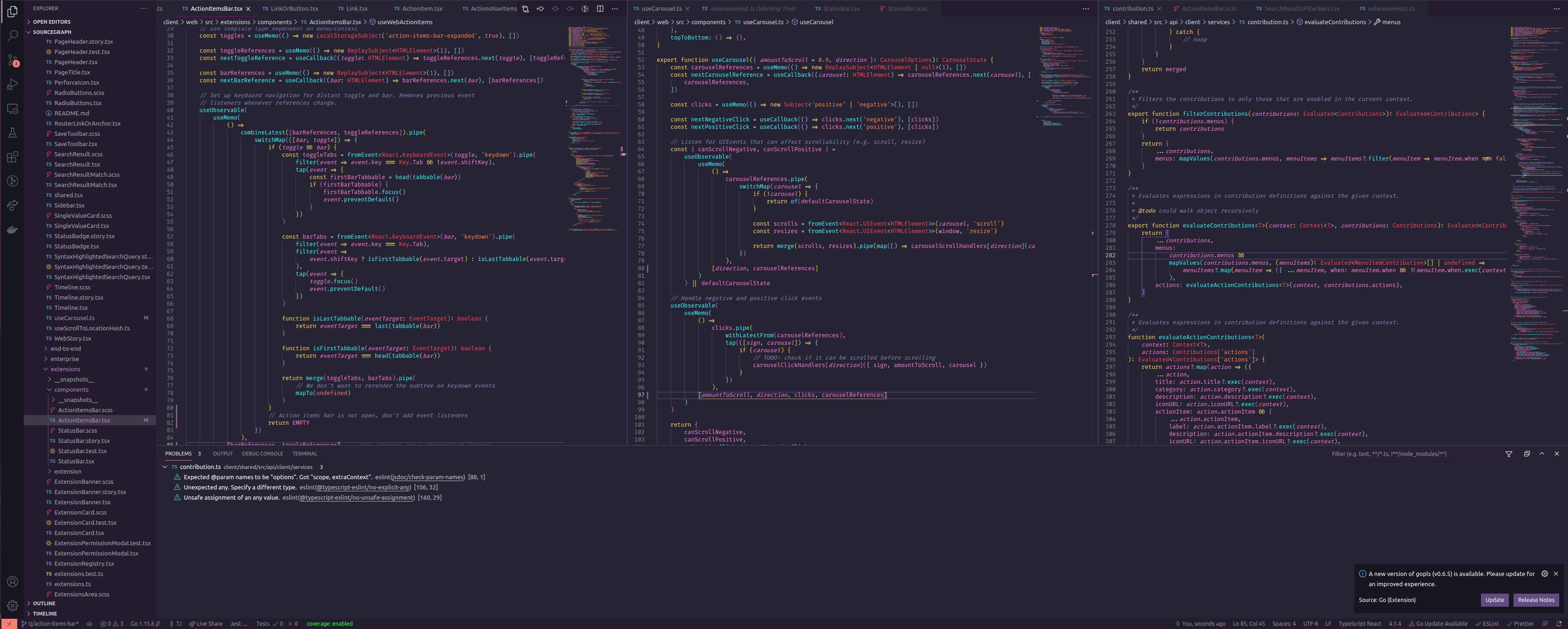 Workspace of TJ Kandala, Software Engineer