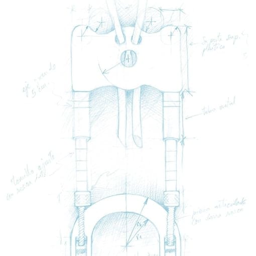 Is a sketch of Andropenis penis enlargement device