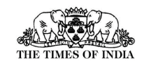the times of india أخبار
