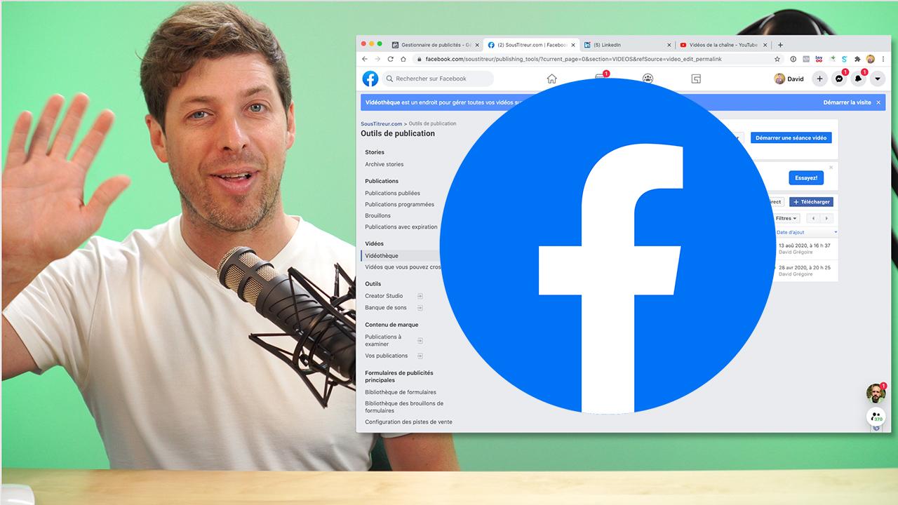 Comment mettre des sous-titres sur des publicités Facebook Ads