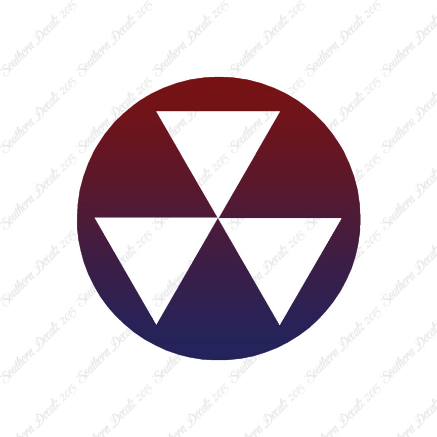 Fallout Shelter Symbol Decal Sticker Multiple Patterns Sizes