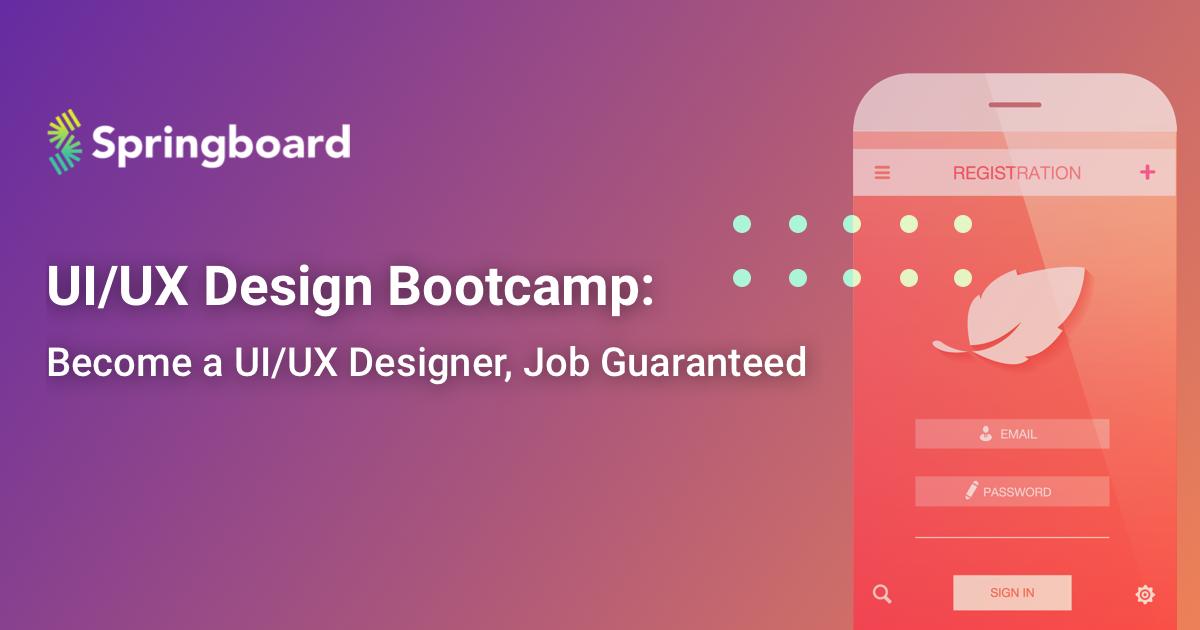 Ui Ux Design Bootcamp Springboard