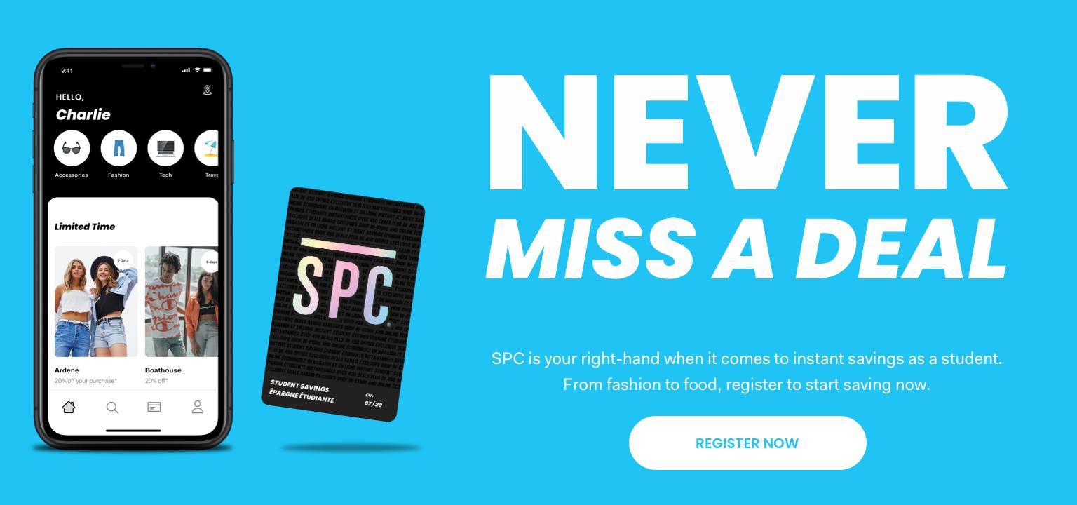 SPC | Student Deals and Discounts