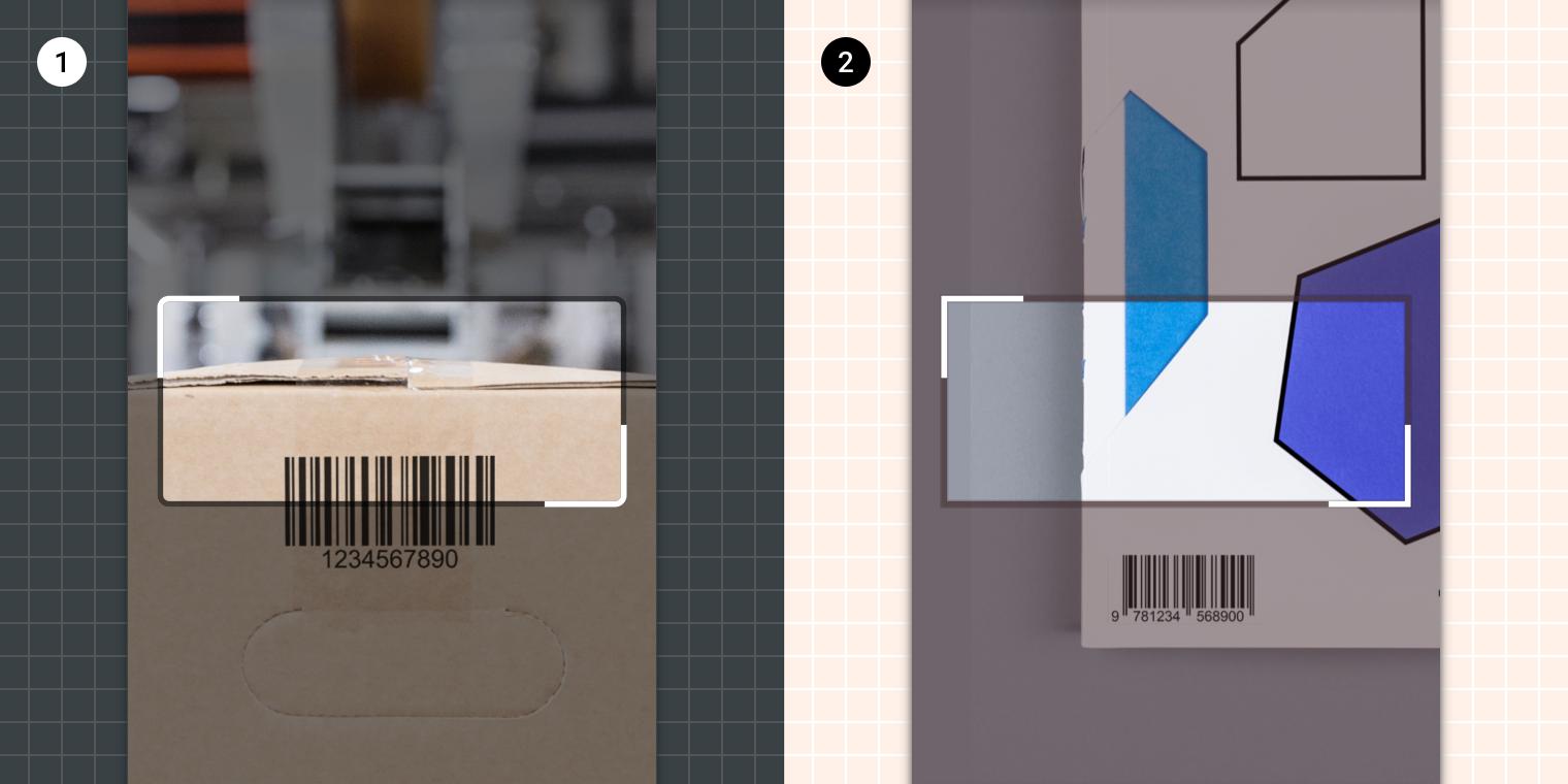 Barcode Scanning - Material Design