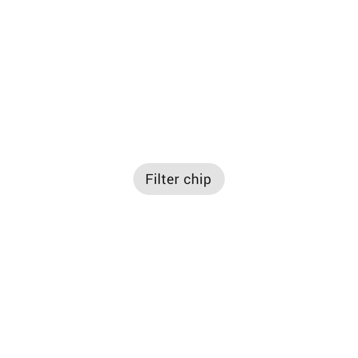 Chips - Material Design
