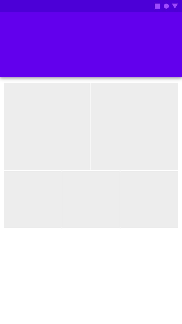 Launch screen - Material Design