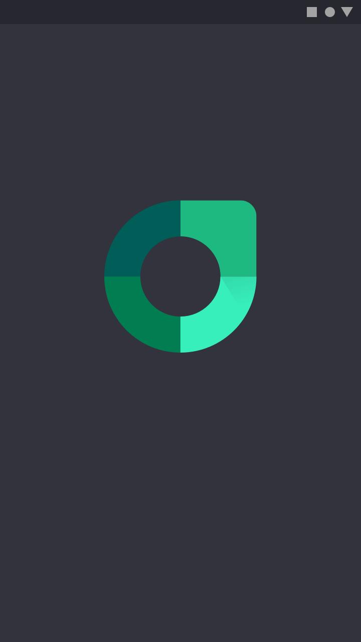 Launch Screen Material Design