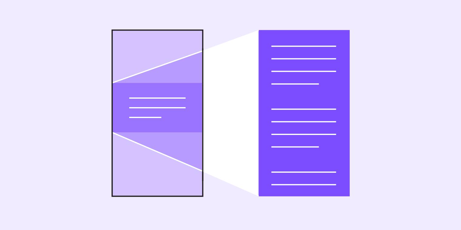 Navigation transitions - Material Design