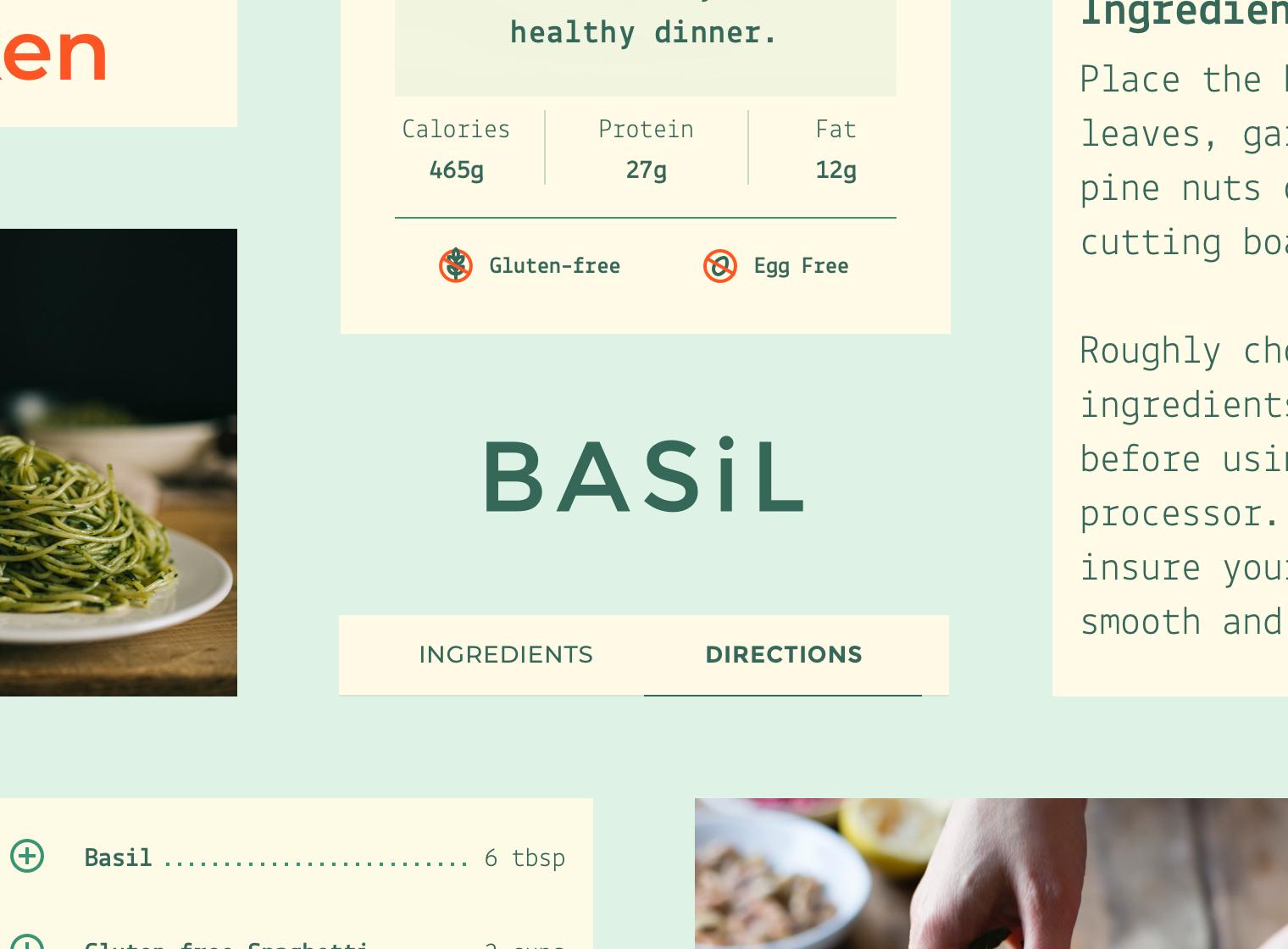 Basil - Material Design
