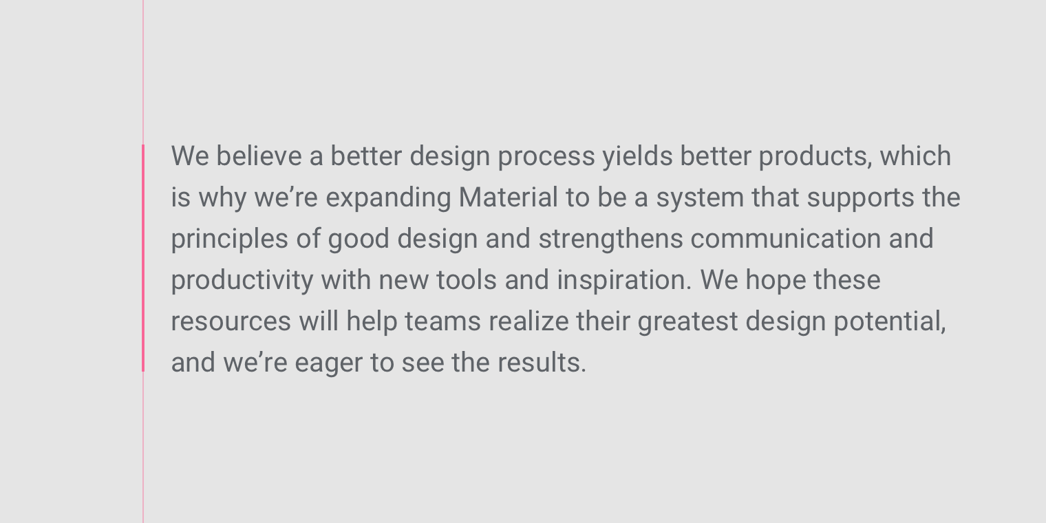 Understanding Typography Material Design