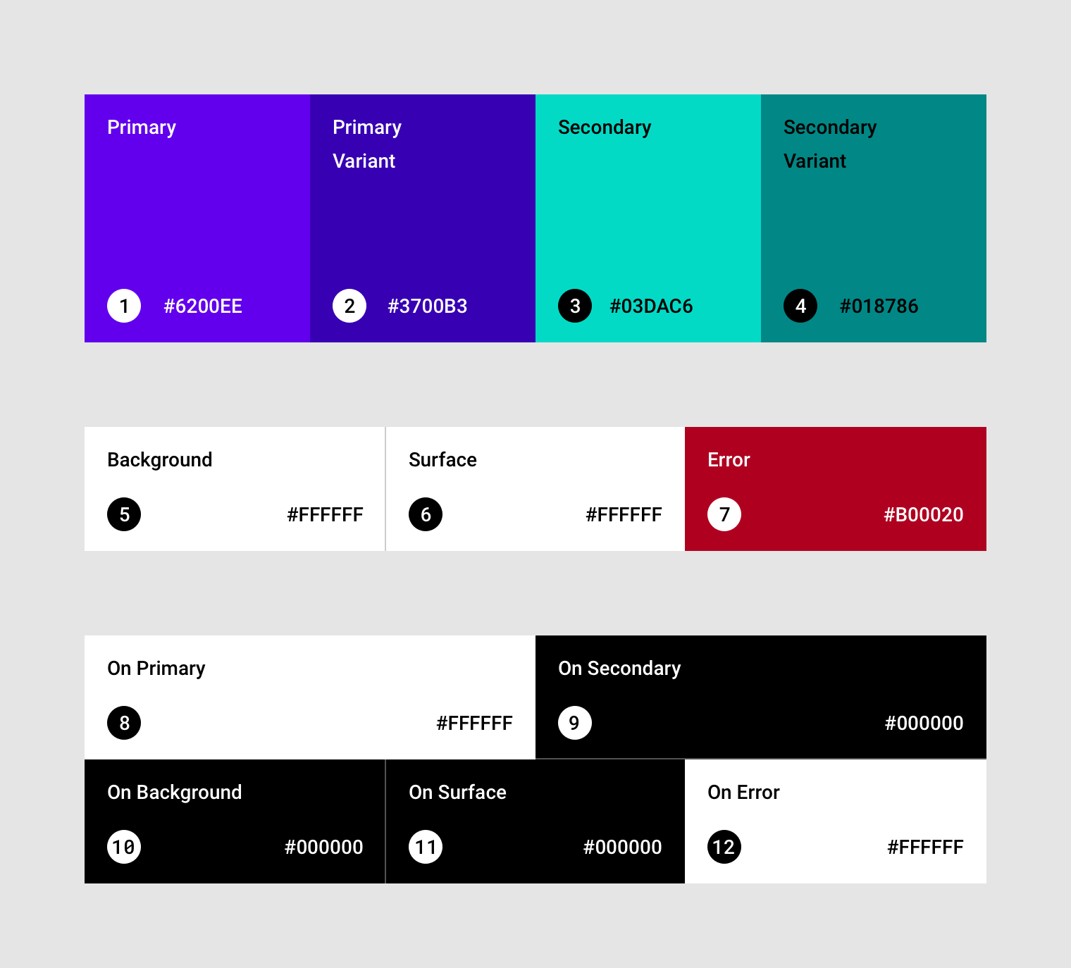 The Baseline Material Color Theme