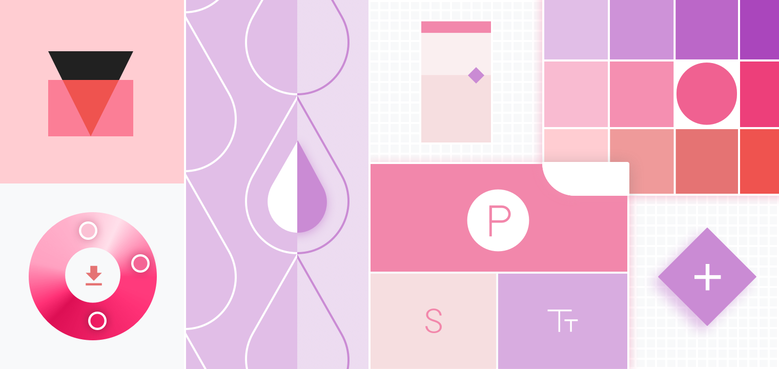 Nice Homepage   Material Design