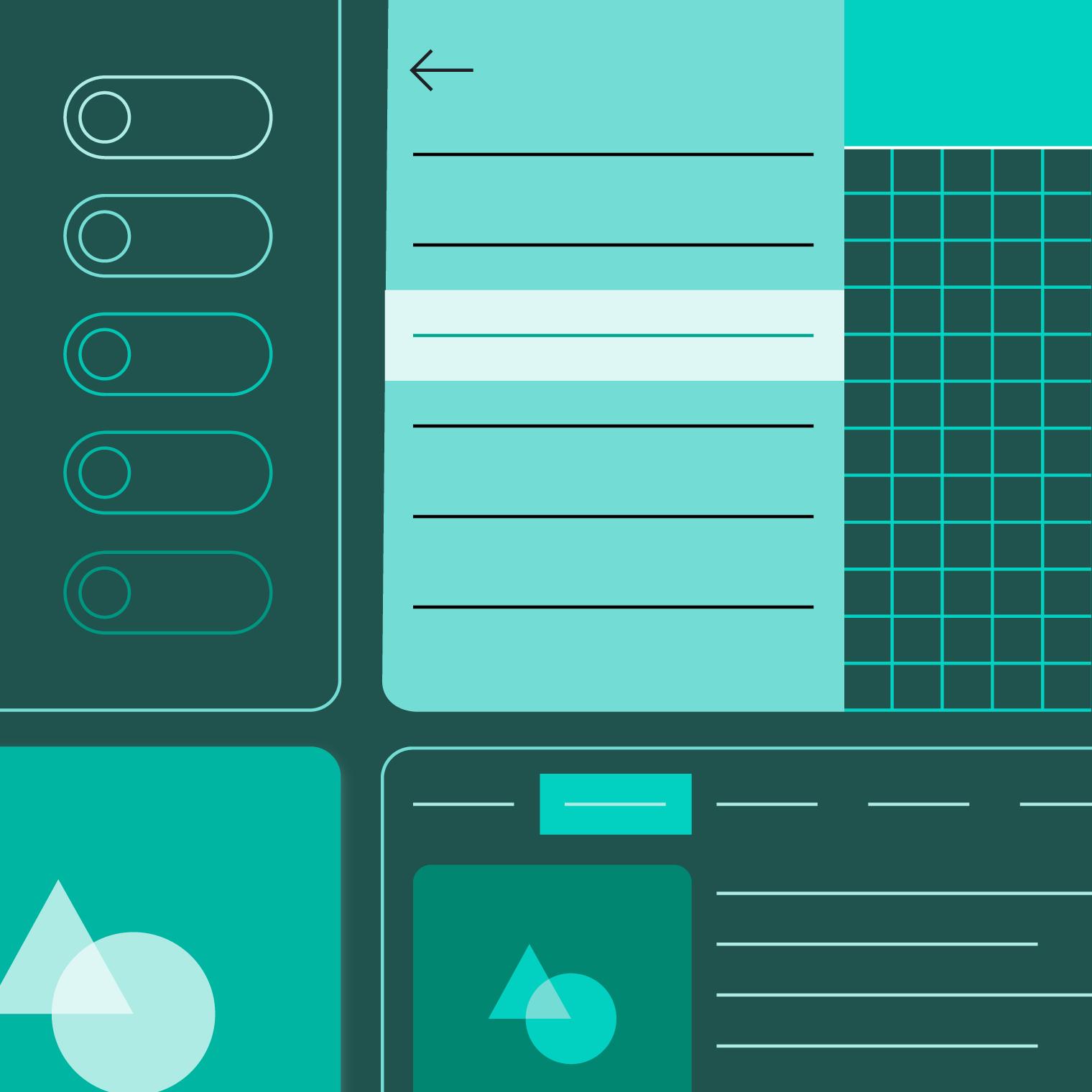 homepage material design