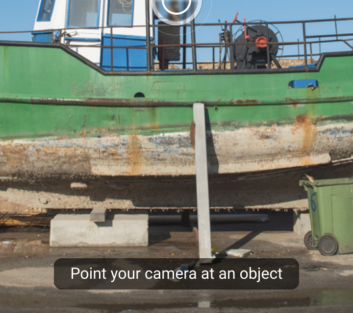 Object Detection: Live Camera - Material Design