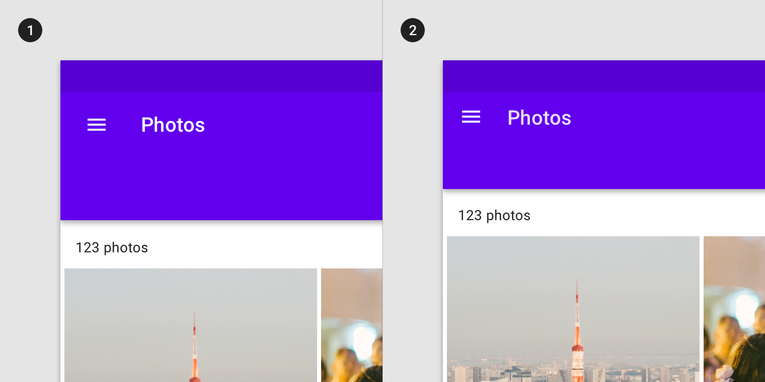 App bars: top - Material Design