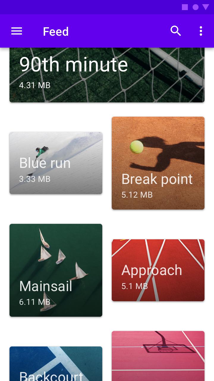 Cards - Material Design
