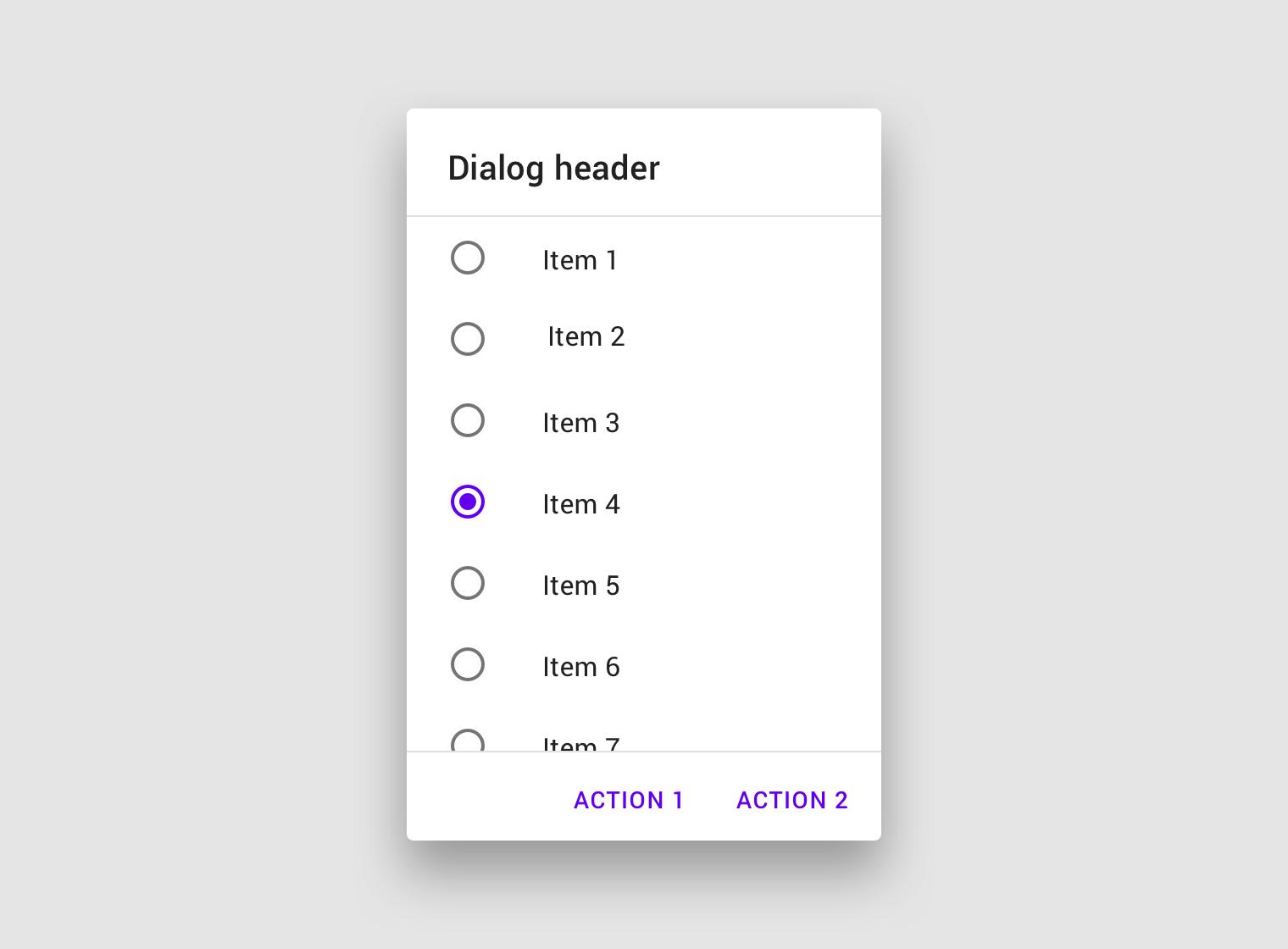 Dialogs - Material Design