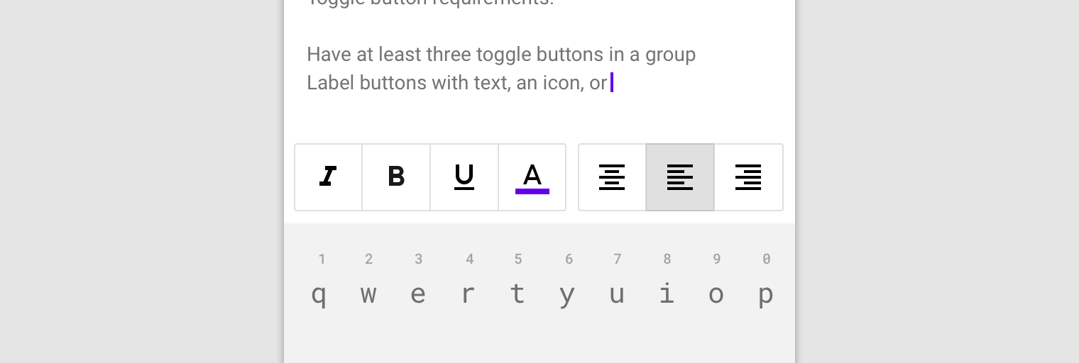 Buttons - Material Design