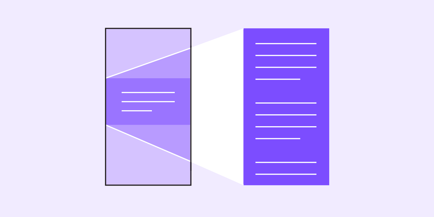Navigation transitions - Material Design