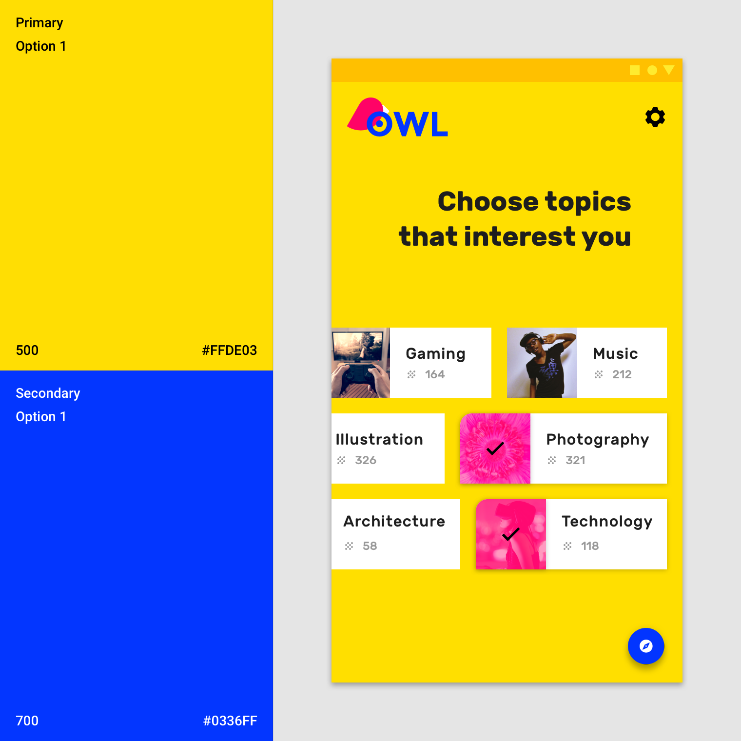 The Color System Material Design