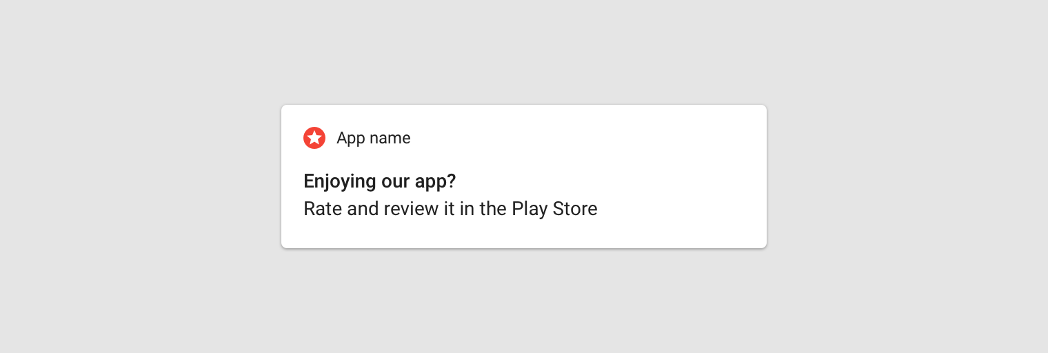 Android notifications - Material Design