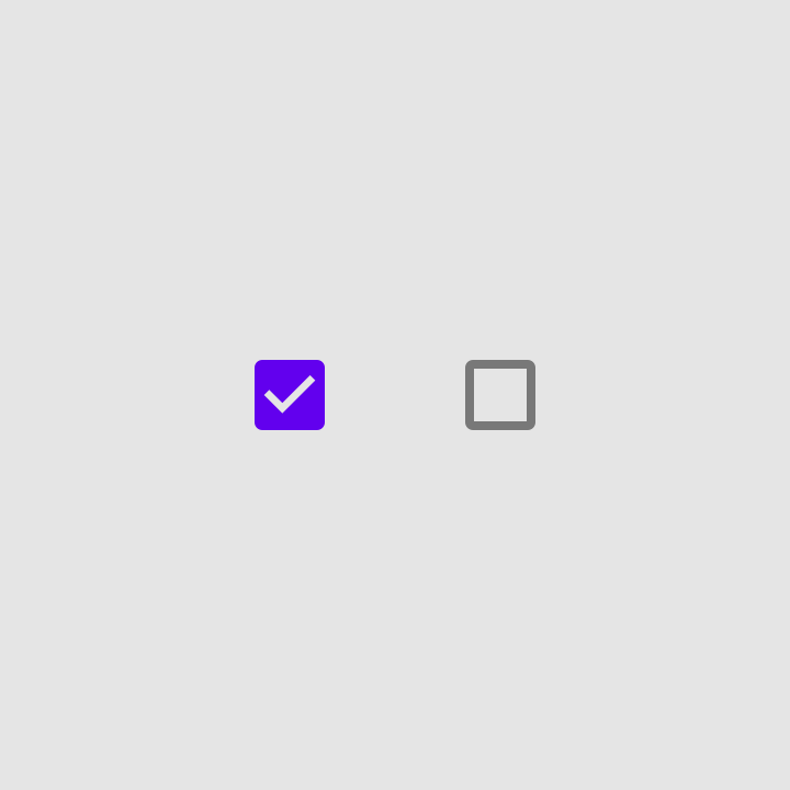 Selection controls - Material Design